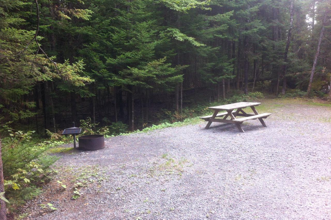 baie sauvage sud 78 camping parc national de frontenac